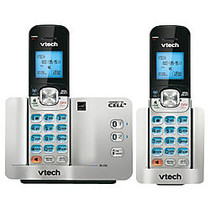 VTech; DS6511-2 DECT 6.0 Expandable Cordless Phone With Bluetooth Connect To Cell, Silver/Black