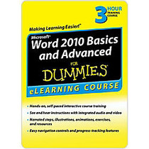 Word 2010 Basics & Advanced For Dummies - 6 Month Access, Download Version
