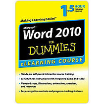 Word 2010 For Dummies - 6 Month Access, Download Version