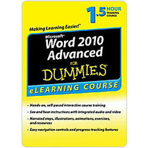 Word 2010 For Dummies Advanced - 30 Day Access, Download Version