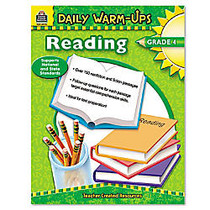Teacher Created Resources Daily Warm-Ups: Reading Grade 4