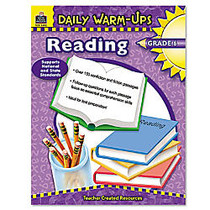 Teacher Created Resources Daily Warm-Ups: Reading Grade 6