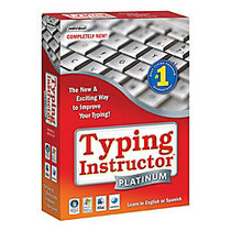 Typing Instructor™ Platinum, For PC/Mac, Traditional Disc