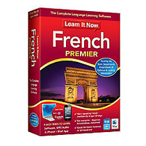Learn It Now™ French Premier, For PC/Mac, Traditional Disc