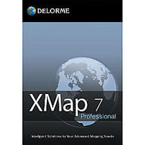 XMap Professional With Topo & Street Data, Traditional Disc