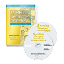 Workplace Media 12 Mistakes Managers Commonly Make, Traditional Disc, 2 Discs