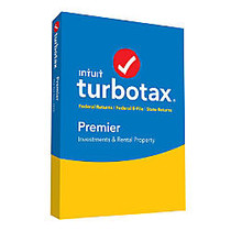 TurboTax; Premier Investments And Rental Property, Fed + E-File + State 2016, For PC/Mac, Traditional Disc