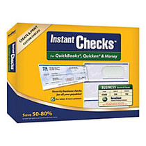 VersaCheck; Instant Checks Software And Business Standard Check Paper Bundle For QuickBooks;, Quicken; And Money, Traditional Disc