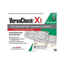 VersaCheck; X1 For QuickBooks; UV Secure 2017, Traditional Disc