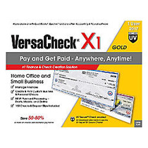 VersaCheck; X1 Gold UV Secure 2017, Traditional Disc