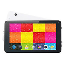 Supersonic SC-4207 Tablet - 7 inch; - 512 MB - Allwinner Cortex A7 A33 Quad-core (4 Core) 1.20 GHz - 4 GB - Android 4.4 KitKat - 800 x 480 - White