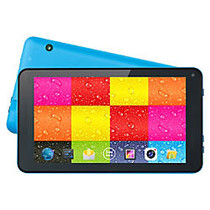 Supersonic SC-4207Blue Tablet - 7 inch; - 512 MB - Allwinner Cortex A7 Quad-core (4 Core) 1.20 GHz - 4 GB - Android 4.4 KitKat - 800 x 480 - Blue