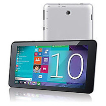 Supersonic SC-7021W Tablet - 7 inch; - 1 GB - Intel Atom Z3735G Quad-core (4 Core) 1.33 GHz - 16 GB - Windows 10 Home 64-bit - 1280 x 800 - In-plane Switching (IPS) Technology