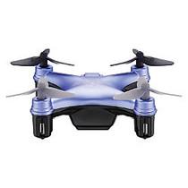 Propel RC Atom Micro Drone, 2 13/16 inch;H x 2 13/16 inch;W x 1 inch;D, Blue