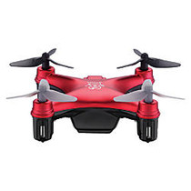 Propel RC Atom Micro Drone, 2 13/16 inch;H x 2 13/16 inch;W x 1 inch;D, Red