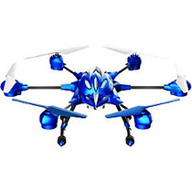 Riviera RC Pathfinder Small 2.4GHz Hexacopter With Camera, Blue
