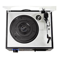 PylePro Multifunction Turntable With MP3 Recording, USB-to-PC, Cassette Playback, Rechargeable Battery