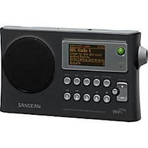 Sangean WFR-28 Internet Radio - 1.3 inch; Screen - Wireless LAN - Black