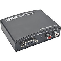 Tripp Lite VGA to HDMI Component Adapter Converter with RCA Stereo Audio VGA to HDMI 1080p