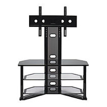 Z-Line Designs; Madrid Flat Panel TV Stand With Integrated Mount, 50 inch;H x 44 inch;W x 18 inch;D, Black