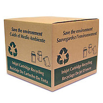 FREE Inkjet Cartridge Recycling Box With Prepaid Return Shipping Label, 12 inch;H x 14 1/2 inch;W x 14 1/2 inch;D