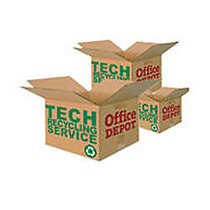 Tech Recycling Collection Service, 20 inch;H x 20 inch;W x 20 inch;D