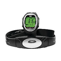 Pyle PHRM56 Heart Rate Watch for Running, Walking, and Cardio (Silver)