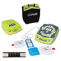 ZOLL; AED Plus; Defibrillator, Lime Green