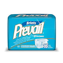 Prevail; Specialty Size Briefs, Youth, 15 inch;-22 inch;, Box Of 16