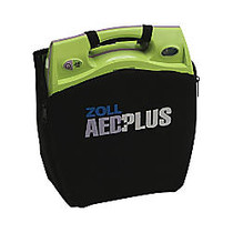 Zoll Medical AED Plus Defibrillator Soft Carrying Case, Black/Green