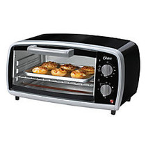 Oster; Toaster Oven, Black/Silver
