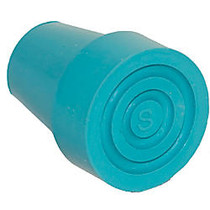 Switch Sticks; Replacement Walking Stick Ferrule Cane Tip, Turquoise