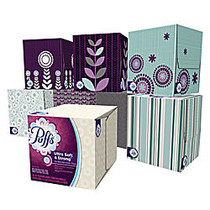 Puffs; Ultra Soft & Strong™ Facial Tissue, 2-Ply, Box of 56 Tissues