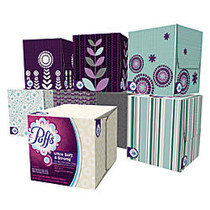 Puffs; Ultra Soft And Strong 2-Ply Facial Tissue, 56 Tissues Per Box, Case Of 24