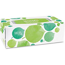 Seventh Generation 100% Recycled Facial Tissues - 2 Ply - White - Paper - Hypoallergenic, Non-chlorine Bleached, Dye-free, Fragrance-free - For Face - 175 Sheets Per Box - 36 / Carton
