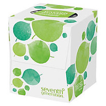 Seventh Generation; 100% Recycled 2-Ply Facial Tissue, 85 Sheets Per Box
