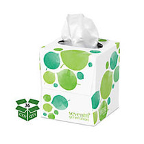 Seventh Generation™ 2-Ply Facial Tissues, 100% Recycled, White, 85 Tissues Per Box, Case Of 36 Boxes