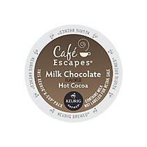 Cafe Escapes™ Milk Chocolate Hot Cocoa K-Cups;, Box Of 24