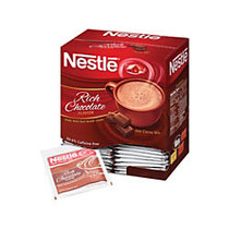 Nestlé; Rich Chocolate Hot Cocoa, 0.71 Oz Packets, Box Of 50