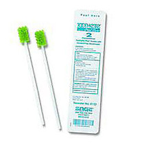 Toothette Plus; Oral Swabs Premoistened With Mouth Refresh Solution, Pack Of 2