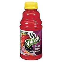 V8; Splash Fruit Juices, Berry Blend, 16 Oz., Box Of 12