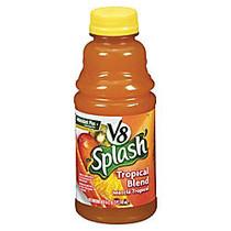 V8; Splash Fruit Juices, Tropical Blend, 16 Oz., Box Of 12