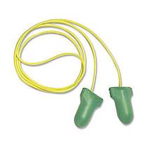 Sperian Low Pressure Foam Ear Plugs, Green/Yellow, Box Of 100