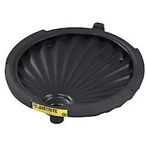 Justrite; Spill Control Funnel For Non-Flammables, 3 1/4 inch; x 21 inch;, Black