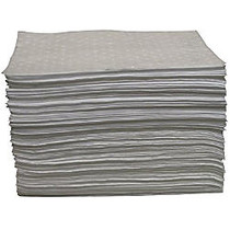 Anchor Brand Oil Only Sorbent Pad, Dimpled/Perforated, Light Weight, Bale Of 100