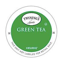 Twinings Green Tea K-Cups;, 0.11 Oz, Box Of 24