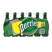Perrier; Sparkling Natural Mineral Water, 16.9 OZ., Case Of 24