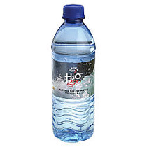 Water To Go; 100% Pure Spring Water, 16.9 Oz., Case Of 24