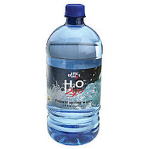 Water To Go; 100% Pure Spring Water, 33.8 Oz., Case Of 12