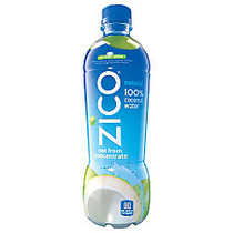 Zico; Natural Coconut Water, 16.9 Oz, Case Of 12
